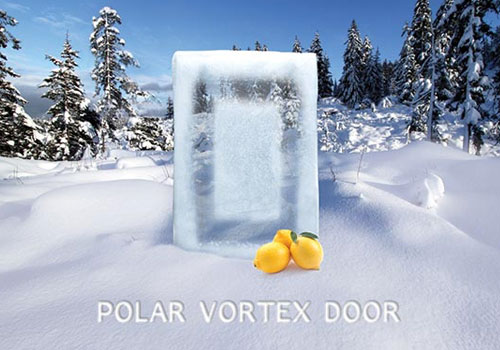 Polar Vortex Door