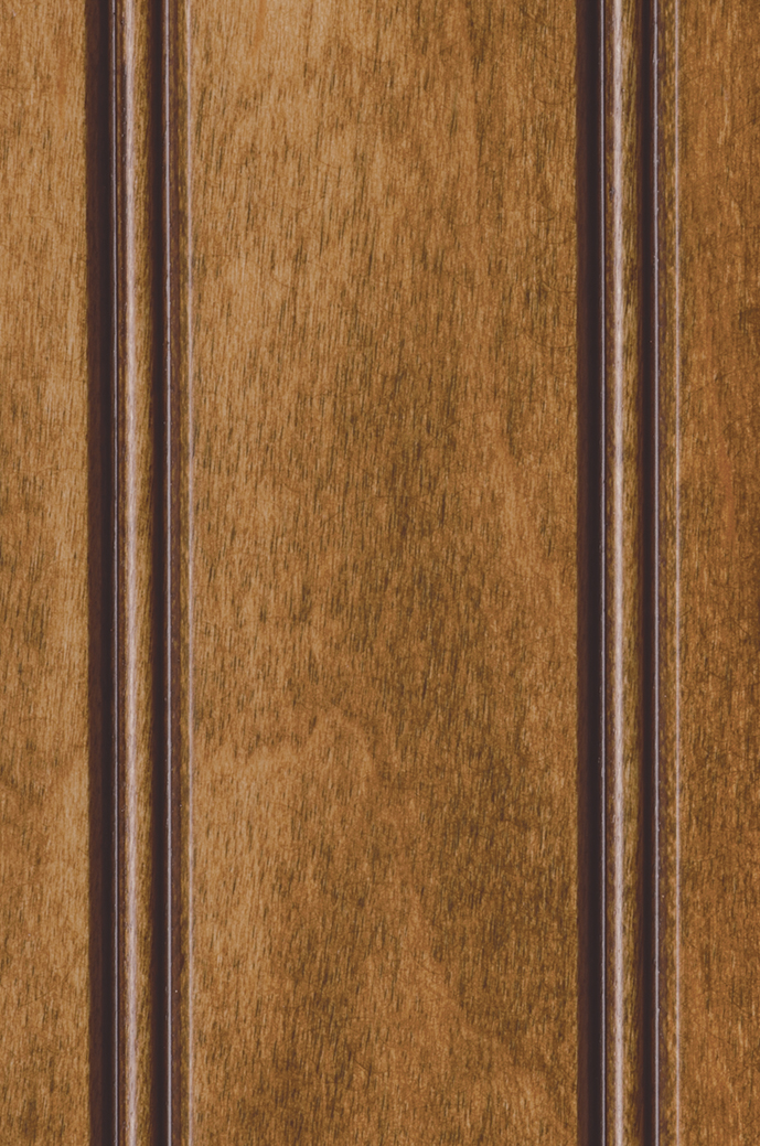 Pecan Stain with Dark Brown Accent