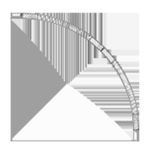 (H) 18″ x 18″ Convex Inset Cabinet