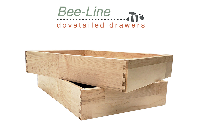 Introducing the New Bee-Line Dovetailed Drawer Boxes