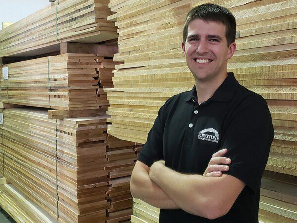 Keystone VP Named to Wood Industry 40 Under 40